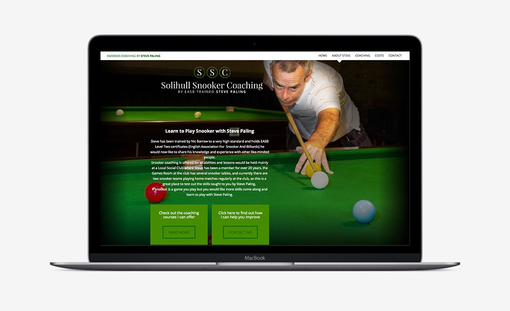 Solihull Snooker Coaching