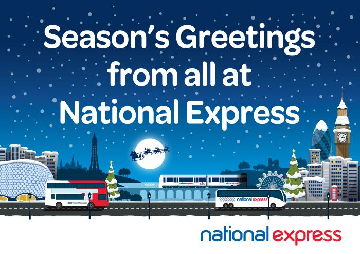 National Express Christmas E-card