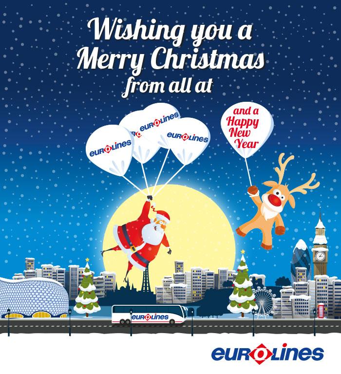 Eurolines Christmas E-card